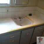 sink resurfacing_before