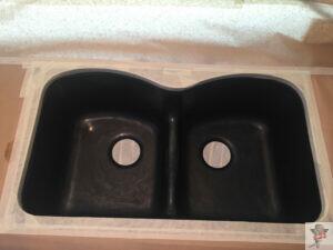 shimmering sink reglazing_before