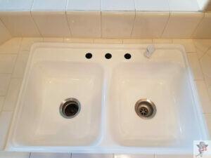 porcelain sink refinishing _ after