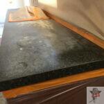granite counter top reglazing _ before