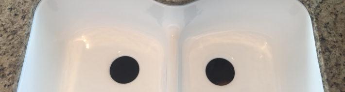 shimmering sink reglazing_after